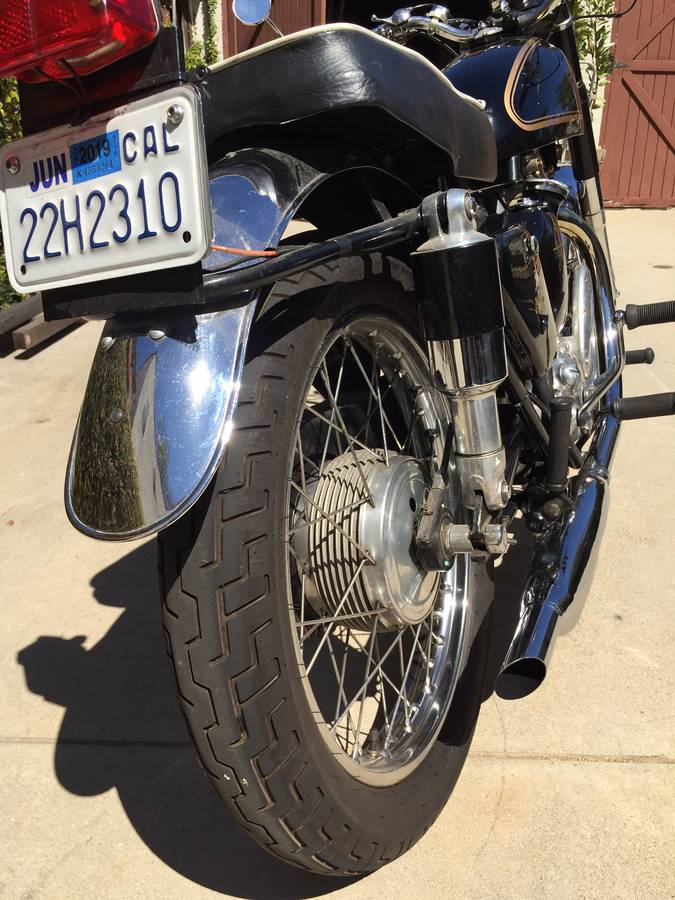 Craigslist | 1954 AJS 18 Matchless 500 - Last of the ...