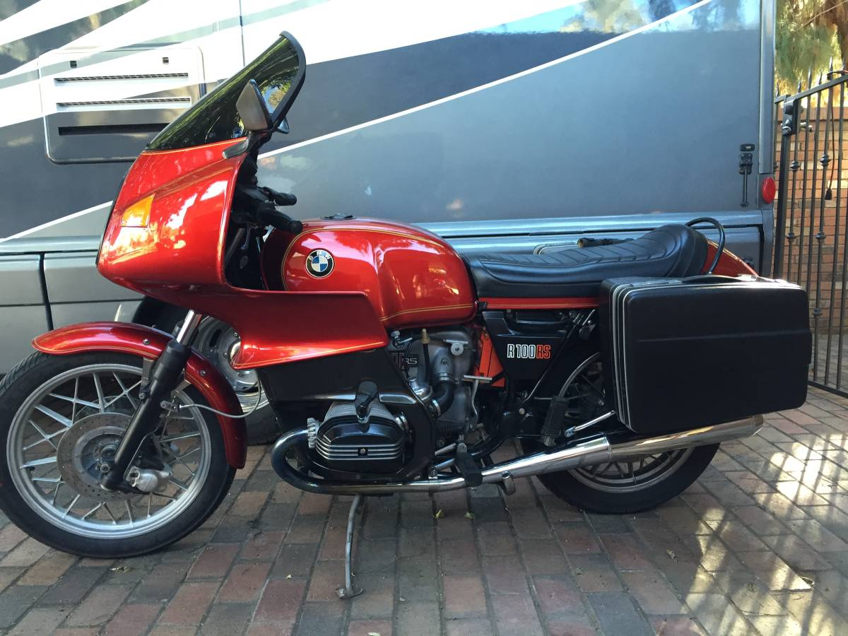 Craigslist 1978 Bmw R100 Rs A Real Apocryphal Belgian Police Bike Neverdropped