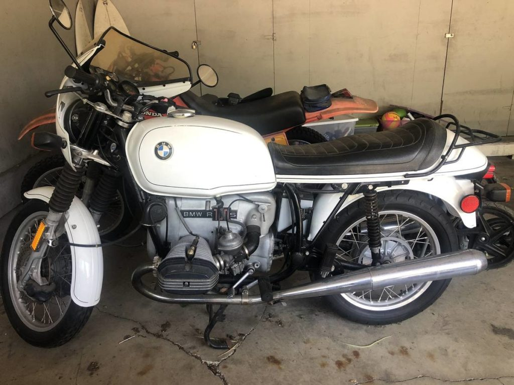 Craigslist 1977 Bmw R100s Alpine White At A Nice Price Neverdropped